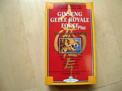 Ginseng + gelée royale + propolis