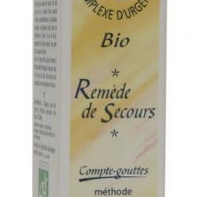 FLEUR DE BACH - Remède de secours (gouttes) - France-Nature - Élixir floraux